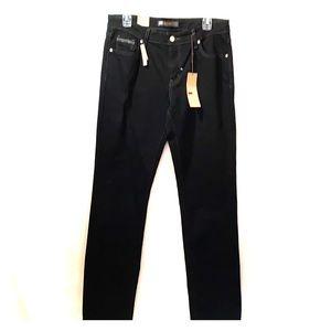 NWT Levi Mid rise Skinny Black Jeans size 12